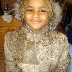 Rabbit fur coat bought right here on Poshmark l❤️❤